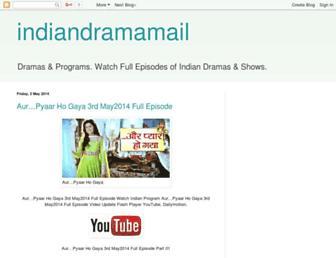 indiandramamail.blogspot.com screenshot