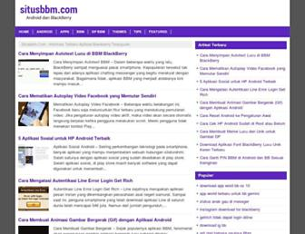 situsbbm.com screenshot