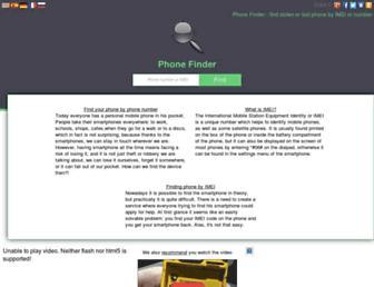 my-phone-finder.com screenshot