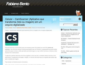 blog.fabianobento.com.br screenshot