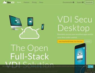 flexvdi.com screenshot