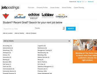 jobpostings.ca screenshot