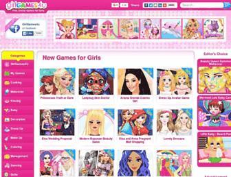 Thumbshot of Girlgames4u.com
