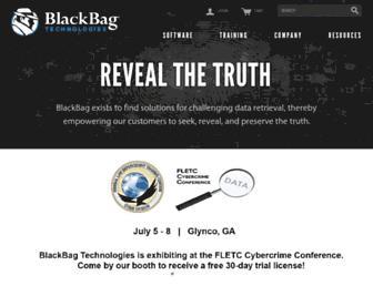 blackbagtech.com screenshot