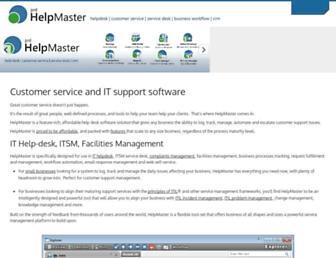 helpmasterpro.com screenshot