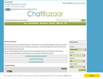 chatbazaar.com screenshot