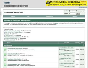 Thumbshot of Metaldetectingforum.com