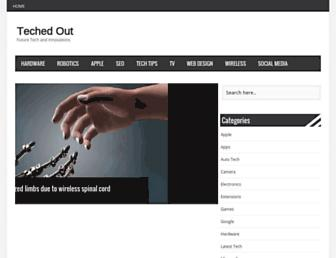 techedout.com screenshot