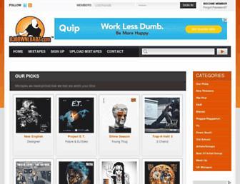 djdownloadz.com screenshot
