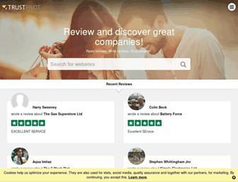 nz.trustpilot.com screenshot