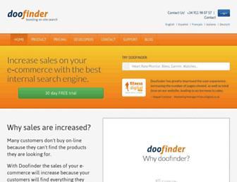 Thumbshot of Doofinder.com