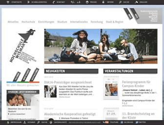 hs-wismar.de screenshot