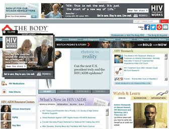 Thumbshot of Thebody.com