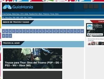 guiamania.com screenshot