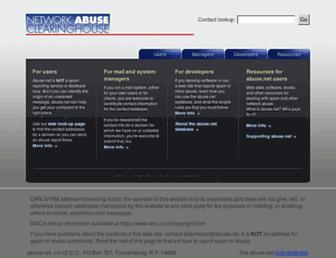 Thumbshot of Abuse.net
