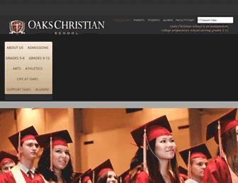 Thumbshot of Oakschristian.org