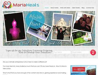 Thumbshot of Mariaheals.com