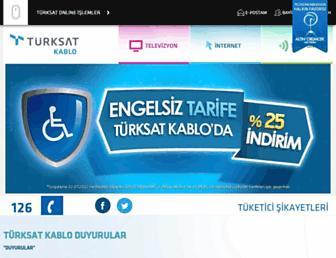 turksatkablo.com.tr screenshot