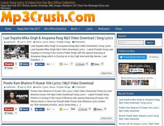 mp3crush.com screenshot