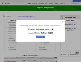 winmansoftware.com screenshot