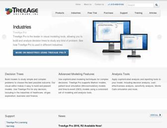 treeage.com screenshot