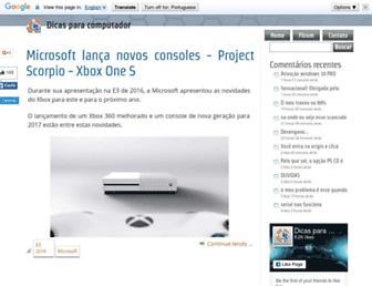 dicasparacomputador.com screenshot