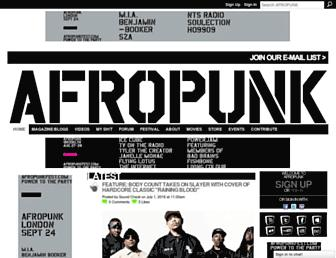 Thumbshot of Afropunk.com