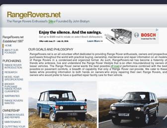 rangerovers.net screenshot