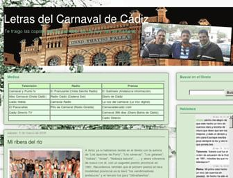 libretodecarnaval.blogspot.com screenshot