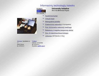 gama.vtu.lt screenshot