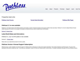pathloss.com screenshot
