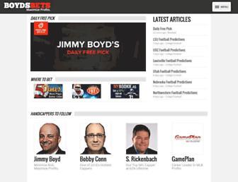 boydsbets.com screenshot