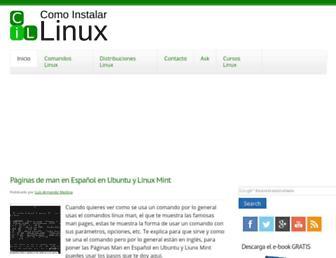 comoinstalarlinux.com screenshot