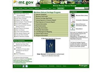 mtnhp.org screenshot