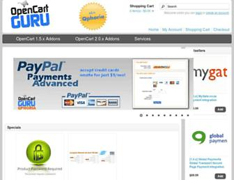 Thumbshot of Opencartguru.com