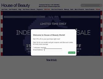 Thumbshot of Houseofbeautyworld.com