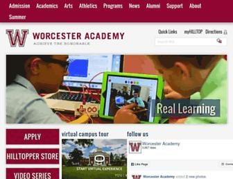 Thumbshot of Worcesteracademy.org