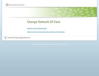 orange.networkofcare.org screenshot