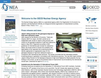 oecd-nea.org screenshot
