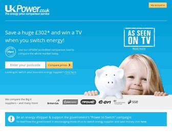 Thumbshot of Ukpower.co.uk