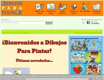 dibujosparapintar.com screenshot