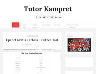 tutorkampret.blogspot.com screenshot